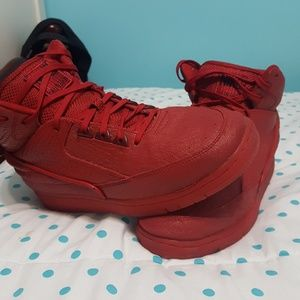 Used Nike Air Python Red October Mens Size 10